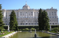 Spain The Royal Palace Madrid