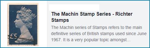 Machin Stamps
