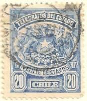 Chile-Telegraph-stamp-AL53
