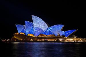 Australia Sydney Opera Night