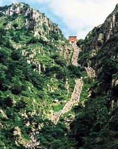 China Sacred Mount Taishan