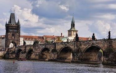 Czechoslovakia The beautiful of Charles Bridge