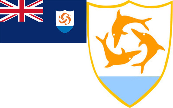Anguilla Coat and Flag