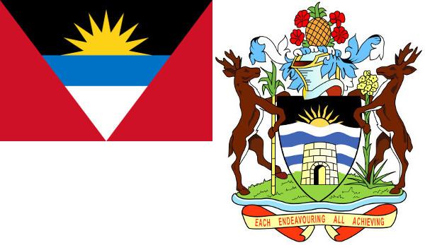 Barbuda Coat and Flag