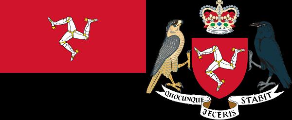 Isle-of-Man-Flag-and-Coat