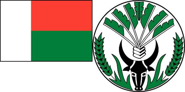 Malagassy Coat and Flag