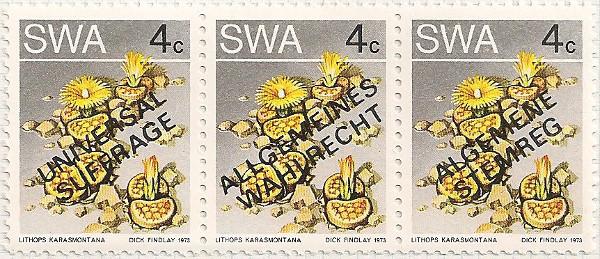 South West Africa 324 i63