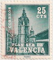 Spain Postal Tax 85 i68