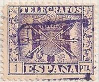 Spain Telegrafos No. no i67