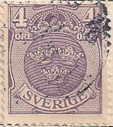 Sweden 68 H1095